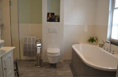 Badkamer, wc en gangvloer